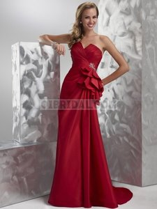 Maggie Sottero Rhinestone Floor Length Sexy Gown Gown Strapless Dress