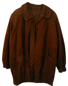 Bruno Magli Suede Jacket Coat