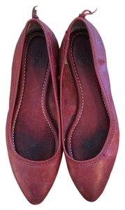 Frye Regina pointy toe flat Red Flats