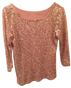 Calvin Klein Sequin Top pink