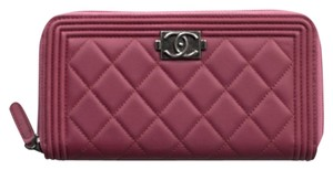 Chanel Boy Chanel Zip Wallet