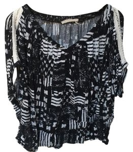Anthropologie Top Blac