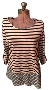 Other Polka Dots Stripes Cotton Cristina Top
