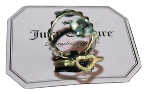 Juicy Couture Authentic Juicy Couture sz 6 TRIO rings