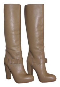 Vero Cuoio Comfortable Leather Taupe Boots