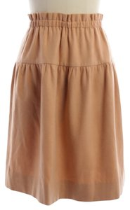 Chanel Skirt Orange pastel