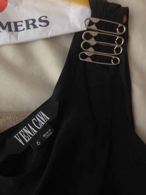 Vena Cava Silk Short Sexy Rock And Roll Dress Image 4