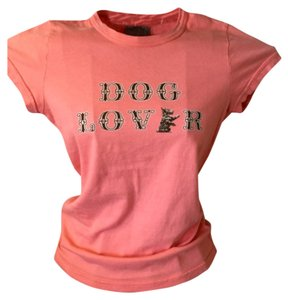 Juicy Couture T Shirt Coral Pink