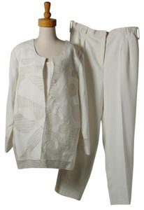 Donna Vinci DONNA VINCI 3 PC WOMEN'S PANT SUIT--BEAUTIFUL/CLASSY/GORGEOUS!