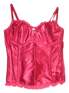 Gilligan & O'Malley zipper back bustier (36C)