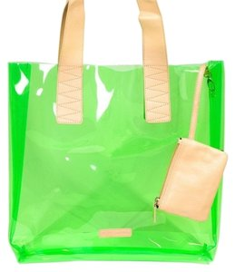 BCBGeneration Tote in Neon Green