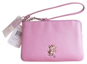 Coach Wristlet in Marshmallow