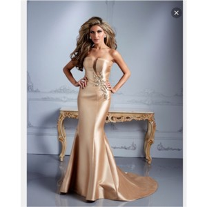 Terani Couture Gold Dress