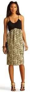 Rachel Roy short dress Black/Brown/Snakeskin on Tradesy