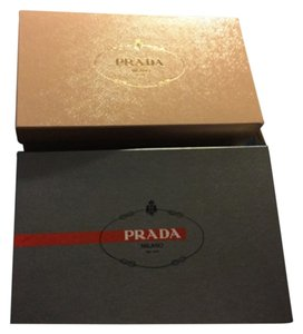 Prada Lot Of 2x Prada Shoe Storage Boxes