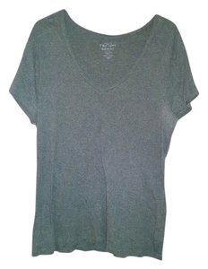 Old Navy V-neck T Shirt Gray