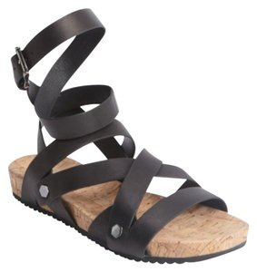 Rebecca Minkoff Studded Strappy Black Sandals