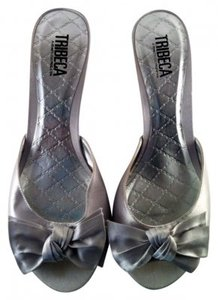 Tribeca by Kenneth Cole Silver Sandals