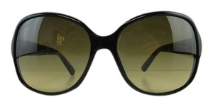 Gucci 100% Authentic New Gucci 3638/S 75QED Black Gradient Leather Full-Frame Sunglasses Italy 58mm