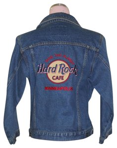 Hard Rock BLUE Womens Jean Jacket