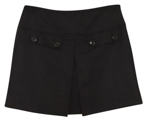 Burberry Mini Skirt Blac