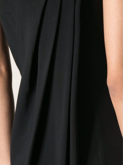 Givenchy Strapless Pleat Pleat Front Pleat Dress