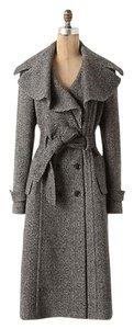 Cartonnier Anthropologie Herringbone Pea Coat