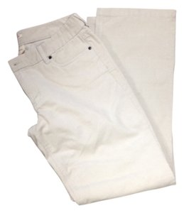J.Crew Corduroy Casual Boot Cut Pants Beige