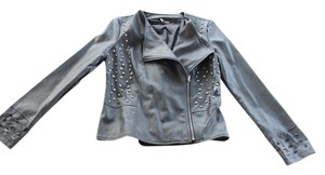 Sparkle & Fade Urban Outfitters Studded New Motojacket Leather Jacket