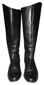 Ciao Bella Leather Kneehigh Black Boots