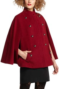 Leifsdottir Anthropologie New Red Cape