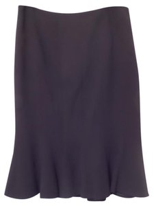 Ann Taylor Flare Hem New Nwt Skirt Black
