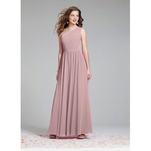 Alfred Angelo Loves First Blush Chiffon Modern Bridesmaid/Mob Dress Size 12 (L)