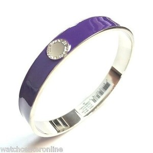 Marc by Marc Jacobs Marc By Marc Jacobs M5134091 Skinny Enamel Disc Bangle - Cosmic Purple