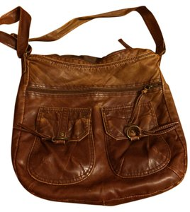 Icing Faux Leather Cross Body Bag