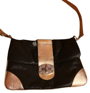 Express Gold Cross Body Bag