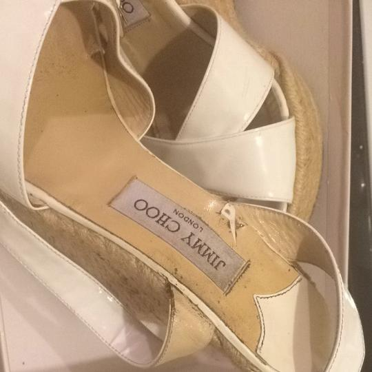Jimmy Choo Ivory Wedges