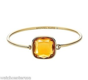 Michael Kors Michael Kors Mkj4218 Top Tension Single Stone Bangle