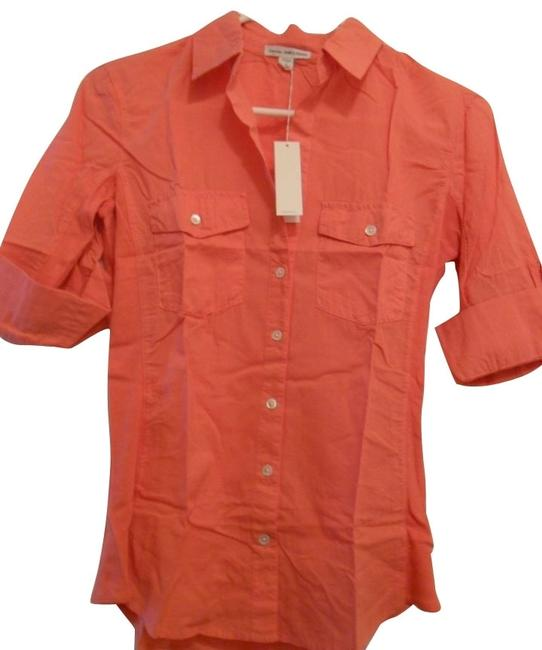 Preload https://item4.tradesy.com/images/james-perse-orange-button-down-top-size-2-xs-1113-0-0.jpg?width=400&height=650