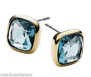Michael Kors Michael Kors Mkj4223 Cushion Cut Stud Earrings