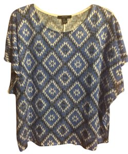 Forever 21 Aztec Flowy T Shirt