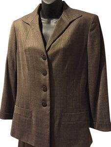 Jones New York Viscose Wool Matching Pants Blazer