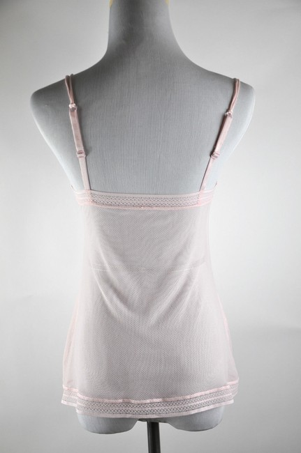 Wolford Mesh Camisol Top Pink
