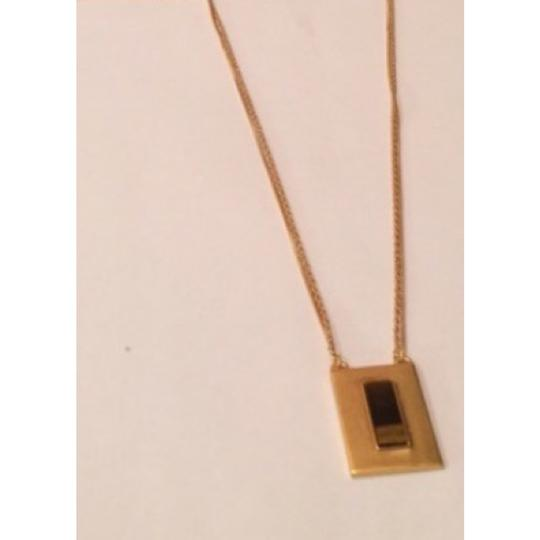 Madewell Madewell tiger's eye chainknot necklace