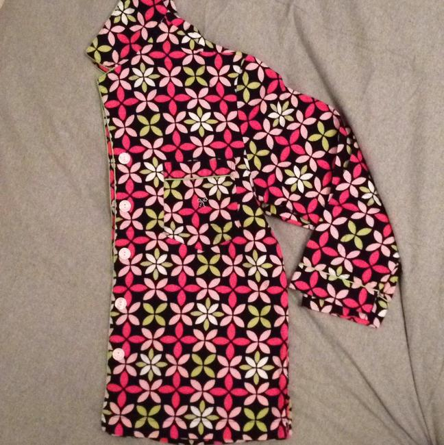 Victoria's Secret Pajama Set Button Down Shirt Printed