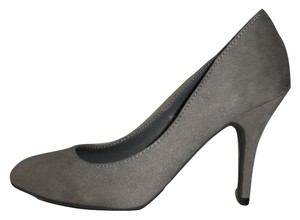 JustFab Grey Pumps