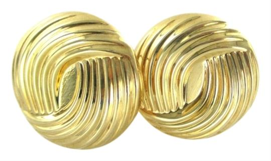 Other 14KT YELLOW GOLD EARRINGS BUTTON