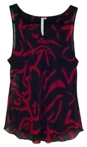 Rachel Roy Top black and red