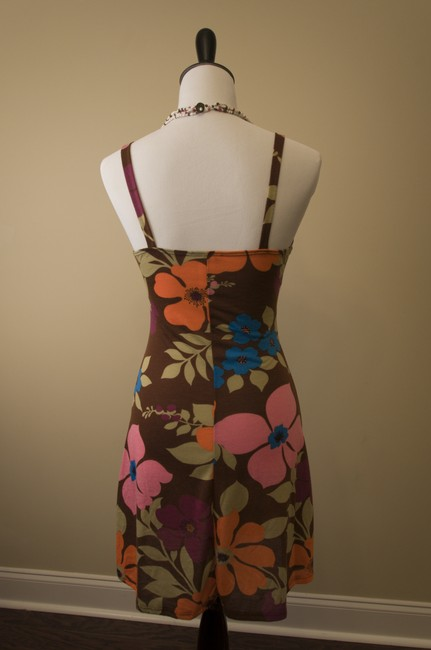 Max Rave short dress Multicolor Floral on Tradesy