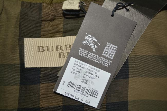 Burberry Coat Coat Green Jacket
